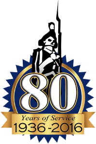 80 years of service
